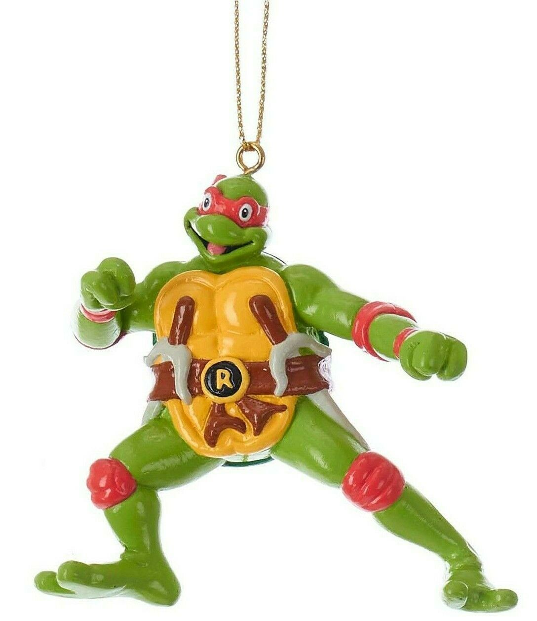 Kurt S. Adler Raphael Teenage Mutant Ninja Turtles Christmas Tree Ornament NWT