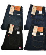 Levis 513 Slim Straight Jeans New Tags Many Sizes Blue Green Black Rinse... - $41.15+