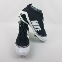 Nike Mens Force Zoom Trout 4 Baseball Cleats Black White 917837 001 MSRP... - $39.95