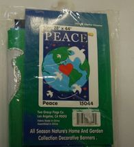 Two Group Flags CO 15044 Peace Decorative Flag All Weather Polyester image 3