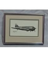 Douglas DC-3 Airplane Print by Milich Framed - $14.85