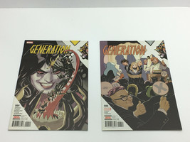 MARVEL Comics, Generation X #004 and #006 - Sep. 2017, Nov. 2017  FREE S... - $14.84