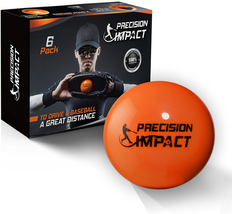 6-Pack Heavy Weighted Baseballs For Hitting 15oz NEW - $32.91