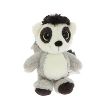 NICI Lemur Grey Stuffed Animal Plush Beanbag Key Chain 4 inches 10 cm - $11.00