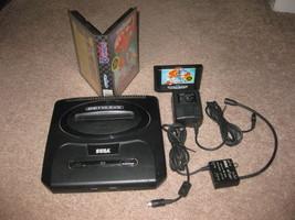 Sega GENESIS 16-Bit Console Model 2 - No Controllers - Sonic 2 UNTESTED - $27.99
