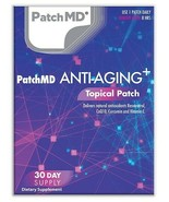New Formula!   PatchMD Anti-Aging Plus Topical Vitamin Patch 30 Day Supply - $14.99