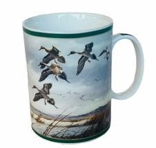 Danbury Mint Ducks America mug cup Maass Wild Wing Mallard Western Marsh... - $24.70