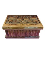 TURKISH PUZZLE MAGIC TRICK SECRET JEWELERY BOX CASE WOOD PANDORA HANDMAD... - $39.54
