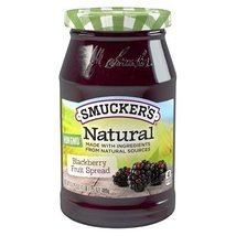 Smucker's Natural Blackberry Fruit Spread, 17.25 oz - $13.47