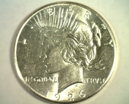 1926-S PEACE SILVER DOLLAR CHOICE ABOUT UNCIRCULATED+ CH. AU+ NICE ORIGI... - $53.00