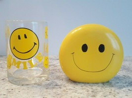 Smiley Face Bank and Mug -Save Your Coffee Money With a Smile-Set For th... - $18.62