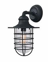 Kenroy Home 93667BL Eli Lanterns, 1 Light Large, Sandy Black - $124.88