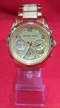MICHAEL KORS Quartz analog wristwatch MK-5660 111207  F/S Very Good From JP - $366.79