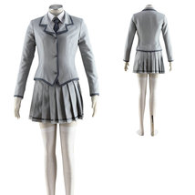 Assassination Classroom Ritsu Winter School Uniform Cosplay Costume - $86.27