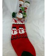 "CIB Ceramic Measuring Spoons Set Christmas Snowman plus knitted stocking18"" - $19.79"