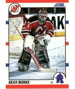 1990 Score Trading Card of  SEAN BURKE #34 - $9.50
