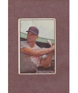 1953 Bowman # 62 Ted Kluszewski Klu Cincinnati Reds - $9.99