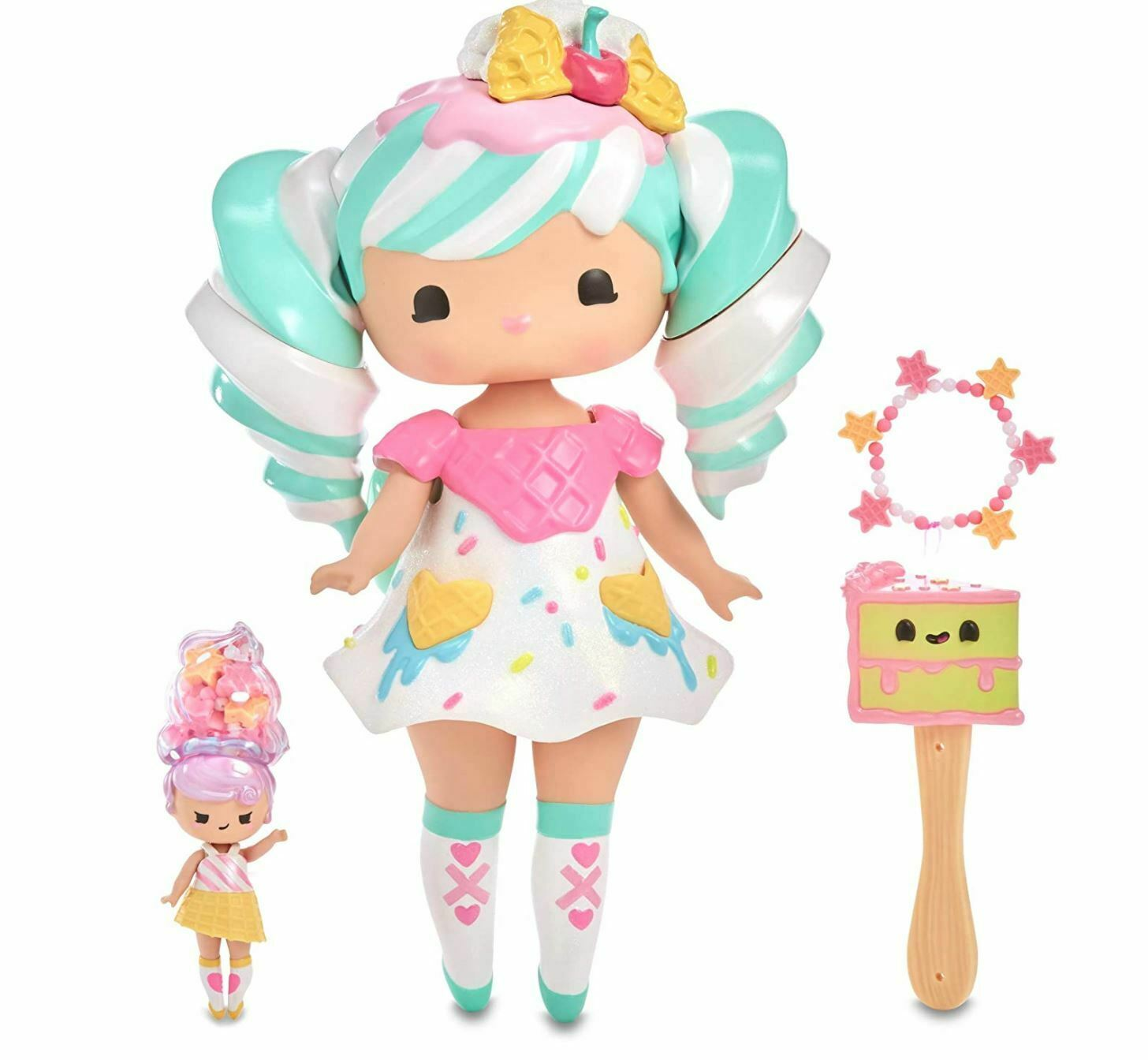 Primary image for MGA Entertainment Secret Crush Sundae Swirl 13-inch Doll & Mini Doll Winnie