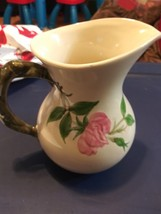 Franciscan Desert Rose  Pitcher England Mark 6 1/2 inches Great condition - $19.75