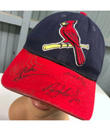 St. Louis Cardinals Autographed Adjustable Baseball Cap Hat - $14.67