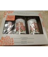 Crabtree & Evelyn Rosewater Bath Shower Gel 2 Pack  Bonus Hand Therapy 2... - $49.95
