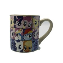 My Little Pony Coffee Mug 2013 Hasbro Cute Princess Ponies Beige HUB - $9.89