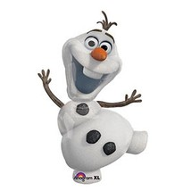 "Disney Frozen Balloon Party Olaf 23"" One (1) Double Sided Mylar Giant - $9.89"