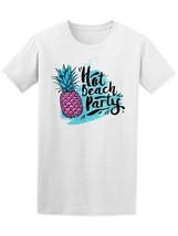 Hot Beach Party Pineapple Men's Tee -Image by Shutterstock - $9.86+