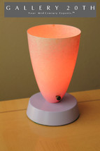 RARE! PINK & LAVENDER MID CENTURY MODERN ACCENT LAMP! 50'S 60'S VTG EAME... - £307.95 GBP