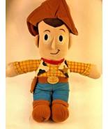 """Disney Pixar Toy Story Woody Plush Cowboy Rag Doll Stuffed Toy 18"""" - $10.50"""
