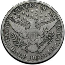 1909 Silver Barber Half Dollar Coin Lot A 356 image 2