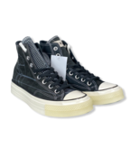 New Converse x END Chuck 70 Hi Blueprint Black White Egret Sneaker 165745C - $89.99
