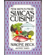 New Menus from Simca's Cuisine Simone Beck and Michael James - $9.95