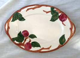 Vintage Franciscan Apple Oval Serving Platter 12-1/2 Inches (American - ... - $11.89