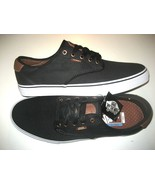 Vans Mens Chima Ferguson Pro Brushed Twill Black Canvas Skate Boat Size ... - $54.44