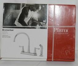 pfister Bremerton F0364SVC 36 Series 2 Handle Polish Chrome Kitchen Faucet image 1