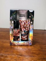 NEW Victoria's Secret SEQUIN NIGHTS Mini Fragrance Mist & Lotion Gift Se... - $19.99