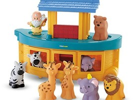 Fisher-Price Little People Noah's Ark Playset - $39.59