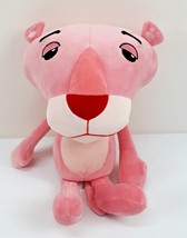"Miniso Pink Panther Plush Stuffed Animal Doll Big Head 11"" Tall 2007 - $16.24"