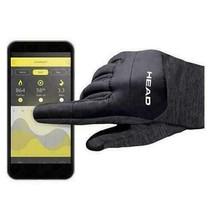 HEAD Men's Gray Ultrafit Sensatec Touchscreen Fleece Lined Running Gloves image 2