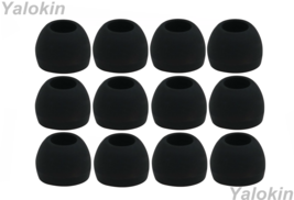 12pcs (ALL-B) Medium (M) Replacement Eartips Eargels for Sennheiser Earphones - $11.31