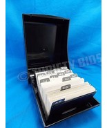 """Rolodex BC102 Covered Card File 200 2 1/4"""" X 3 1/4"""" Index Cards & A-Z In... - $14.84"""