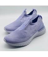 NEW Nike Epic Phantom React Flyknit Purple BV0415-500 Women's Size 6.5 - $118.79