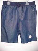 Faded Glory Girls Pull On Bermuda Shorts Dark Wash Size X-SMALL 4-5 NEW - $9.89