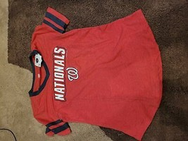 MLB Washington Nationals Women's Pride Heather T-Shirt - S - $13.00