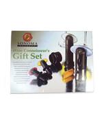 Sonoma Wine Opener Set Barman Sommelier Gift Bottle Stopper Vacuum Sealer  - $24.52