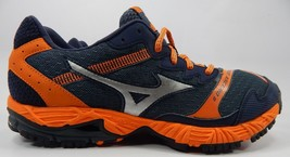 Mizuno Wave Ascend 8 Size US 9 M (D) EU 42 Men's Trail Running Shoes Orange Blue