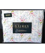 Ralph Lauren Pink Blue Green French Country Floral Sheet Set Queen - $131.00