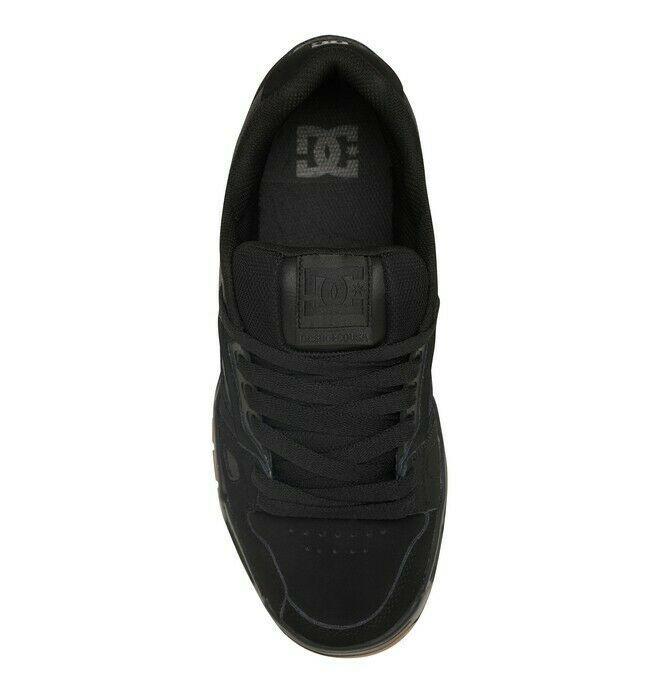 Mens DC Stag Skateboarding Shoes NIB Black Gum        (bgm) image 6