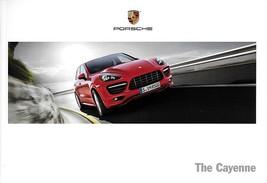 2013 Porsche CAYENNE sales brochure catalog US 13 Turbo S GTS Diesel Hyb... - $12.00